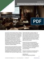 PLI Crisis of Distrust White Paper
