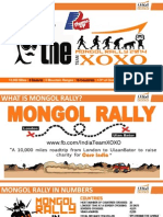 Mongol Rally Introduction for Coca Cola