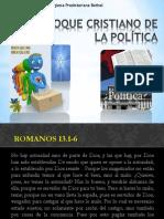 Un Enfoque Cristiano de La Política