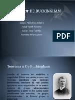 TEOREMA  π DE BUCKINGHAM.pptx