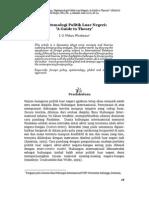 Epistemologi Politik Luar Negeri