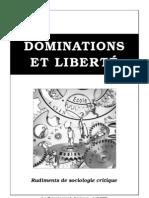 Dominations et liberté - Rudiments de sociologie critique