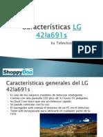 Características LG 42la691s