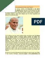 Frente a Los Críticos de La Canonización de San Juan Pablo II