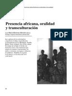 Oralidad 10-28-32 Presencia Africana Oralidad