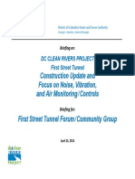 DC Water 1st St Tunnel Forum Mtg 2014 04 24