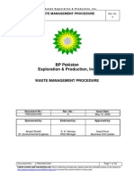 BP WASTE Management Procedure