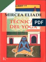 Eliade Mircea Tecnicas Del Yoga