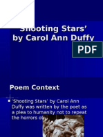 Shooting Stars - some notes