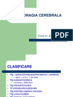 Hemoragia Cerebrala Curs 6
