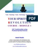 Your Spiritual Revolution Course - Module 1