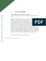 Universal Pattern of Inequality - Yakovenko & Banerjee