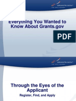 Grants Gov Applicant General Overview