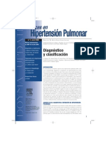 Avances en Hipertension Pulmonar Diagnostico y Clasificacion