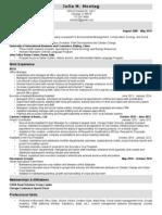 Montag Resume 2014
