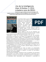 El Arte de La Inteligencia de Allen Dulles (1953)