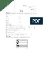 Chorus - Test #2
