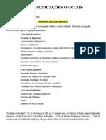 Resumo Do Manual Da Presidência Da Republica
