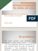 02el Problema de Investigacion