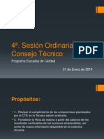4a Sesion Ordinaria CT