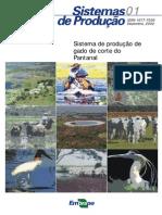 SANTOS 2002 Sistema de Produção de Gado de Corte Do Pantanal