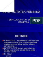 INFERTILITATEA feminina