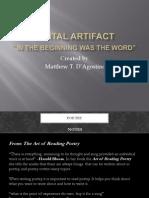 digital artifact