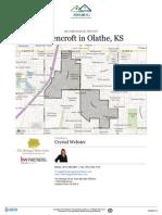 Neighborhood Report for Havencroft in Olathe KS 66062