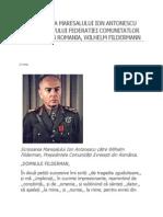 o Scrisoare a Maresalului Ion Antonescu Adresata Sefului Federatiei Comunitatlor Evreiesti Din Romania