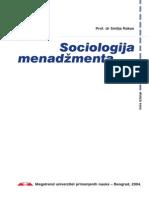 Smilja Rakas-Sociologija Menadzmenta