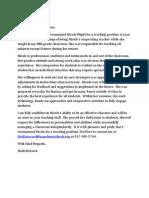 heidi letter pdf