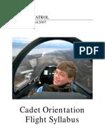 CAPP 52-7 Cadet Flights - 04/01/2007
