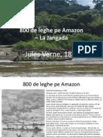 800 Leghe pe Amazon  - Jules Verne