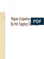Repair of Pipeline Defects by Hot Tapping Technique