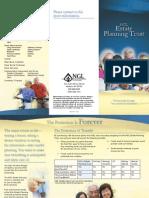 estate planning trust brochure