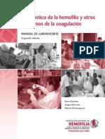 Diagnostico de La Hemofilia y Otros Transtornos de La Coagulacion