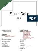 Flauta Doce 2013