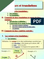Cours Vecteurs Et Translations