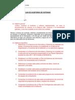 Plan Auditoria - Programa y Cuestionario