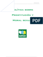 Política prostitución