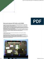 Desarmar Una HP Pavilion DV2000 - Taringa!