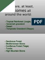 1ºTopic Two Biomes