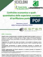 Attilio Tornavacca Presentazione ESPER Finale Emilia
