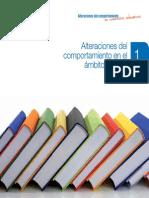 Libro 1 Bases Teóricas de Las Alteraciones Del Comportamiento. Comportamiento y Alteraciones. Modelos Explicativos Desde El Ámbito Escolar. Factores de Riesgo