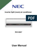 NEC RIH-6867 User Manual
