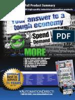 AD ProductSummary Fall2011