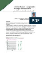 Prediciendo Microestructura y Propiedades Mecanicas de Gci y Sgi Por Analisis Termico1