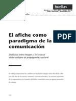 Afiche Como Paradigma de La Comunicacion