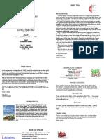 Oakmont United Methodist Newsletter May 2014