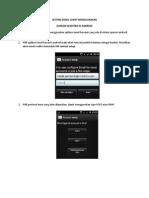 Setting Email Menggunakan Android